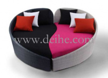 Шезлонг - A-070 , DEIHE FURNITURE ,  ПЛАСТИК  ,   стиль