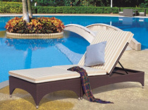 Шезлонг - C228L , Shine Outdoor Furniture ,  ПЛАСТИК  ,   стиль
