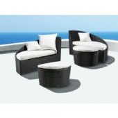 Шезлонг - C195 , Shine Outdoor Furniture ,  ПЛАСТИК  ,   стиль